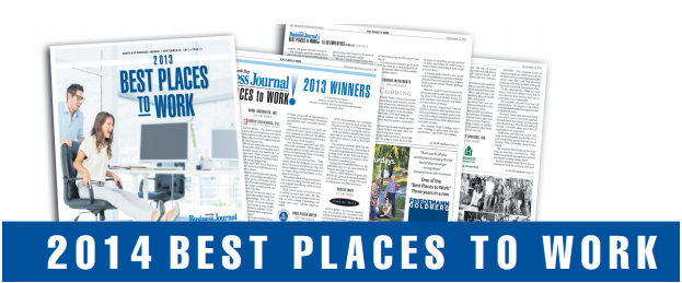 VinoPRO named 2014 North Bay Business Journal's Best Places to Work