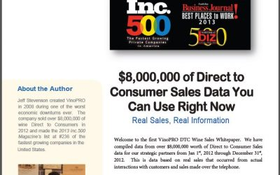 VinoPRO DTC White Paper 2013